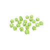 Peridot, Round Faceted Fire Polished; 8mm - 20 pcs