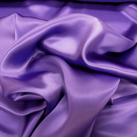 "Silk Charmeusse, Purple, 54"" Wide- 1 Yard"