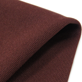"Brown, BaseBall Knit - 60"" wide; 1 Yard"