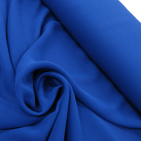 "Blue, Polyester Chiffon - 60"" wide; 1 Yard"