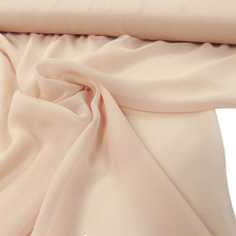 "Blush, Polyester Chiffon - 60"" wide; 1 Yard"