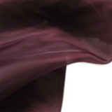 "Burgundy, Polyester Plain Voile - 118"" wide; 1 Yard"