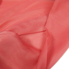 Coral, Polyester Voile (Mesh) - 118