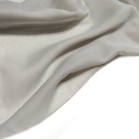 Gray, Polyester Voile (Mesh) - 118