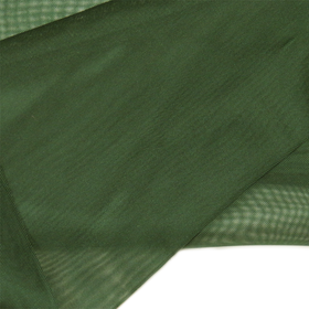 Green, Polyester Voile (Mesh) - 118