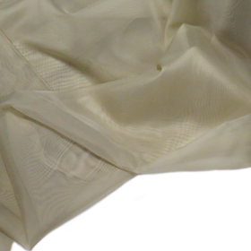 Light Olive Green, Polyester Voile (Mesh) - 118