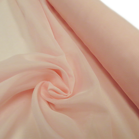 Light Pink, Polyester Voile (Mesh) - 118