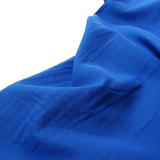 "Royal Blue, Textured Polyester Poplin - 118"" wide; 1 Yard"