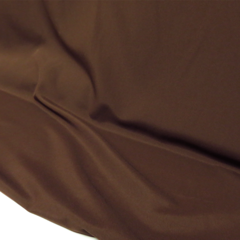 "Brown, Textured Polyester Poplin - 118"" wide; 1 Yard"