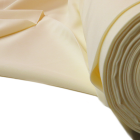 Ivory, 100% Textured Polyester Poplin - 118