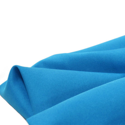 "Blue, Textured Polyester Poplin - 118"" wide; 1 Yard"