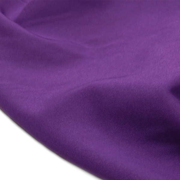 "Purple, Textured Polyester Poplin - 118"" wide; 1 Yard"