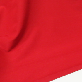 Red, 100% Textured Polyester Poplin - 118