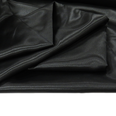"Black, Polyester Satin - 60"" wide; 1 Yard"