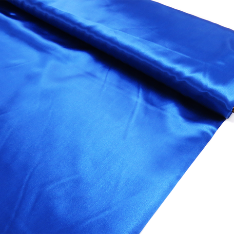 "Blue, Polyester Satin - 60"" wide; 1 Yard"