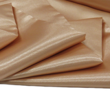 "Champagne, Polyester Satin - 60"" wide; 1 Yard"