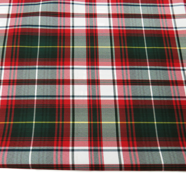 School Plaids, Red White Green, 60