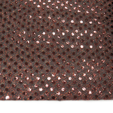 "Copper, Polyester Sequin - 44"" wide; 1 Yard"