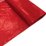 "Red, Polyester Sequin - 44"" wide; 1 Yard"