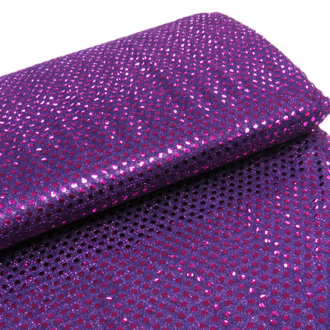 "Purple, Polyester Sequin - 44"" wide; 1 Yard"