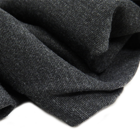 Charcoal Gray - Polyester Spandex Cotton Knit, 60