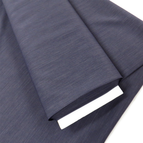 "Ash Amethyst, Polyester Stretch Atlantic Linen - 60"" wide; 1 Yard"
