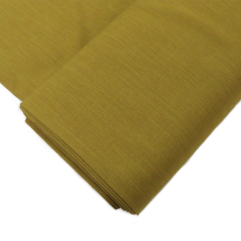 "Avocado,  Polyester Stretch Atlantic Linen - 60"" wide; 1 Yard"