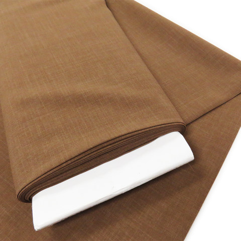 "Sand, Polyester Stretch Atlantic Linen - 60"" wide; 1 Yard"