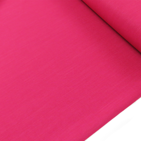 "Fuchsia, Polyester Stretch Atlantic Linen - 60"" wide; 1 Yard"