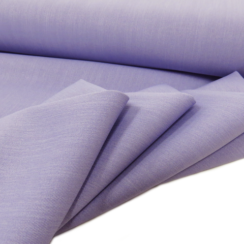 "Lavender, Polyester Stretch Atlantic Linen - 60"" wide; 1 Yard"