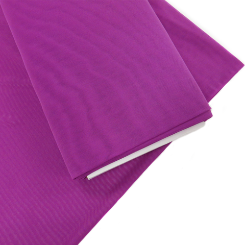 "Purple, Polyester Stretch Mesh - 60"" wide; 1 Yard"