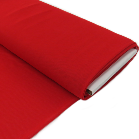 "Red, Polyester Stretch Mesh - 60"" wide; 1 Yard"
