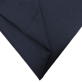 Heart Island, Poplin Fabric, Navy Blue, 60