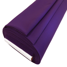 Poplin Fabric, Purple, 60
