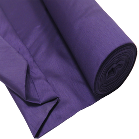 Purple, 100% Textured Shantung - 118
