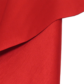Red, 100% Textured Shantung - 118