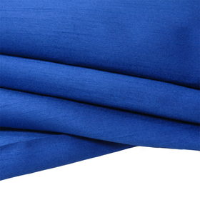 Royal Blue, 100% Textured Shantung - 118