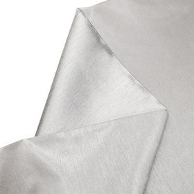 Grey, 100% Textured Shantung - 118