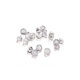 Swarovski Crystal, Bicone, 4mm- Crystal; 20pcs