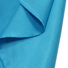 Blue, 100% Textured Shantung - 118