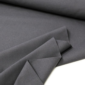 Charcoal, 65% Poly 35% Cotton Twill  - 62/64
