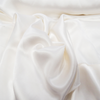 White, 100% Natural Silk Charmeuse - 56