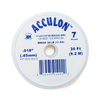 Acculon, Nylon Coated Beading Wire-Gold; .018/30ft