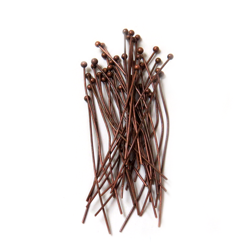 Ballpin 5x35mm, Copper - 100 pieces