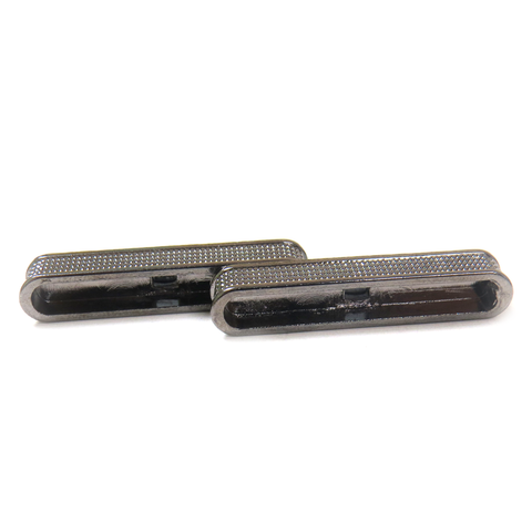Magnetic Clasp, Silver, 38x14mm - 1 piece