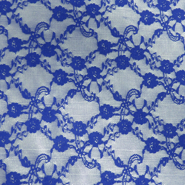 Royal Blue Stretch Lace, 54