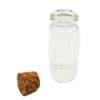 Crystal Bottle with Cork, 49x22mm; 1 piece