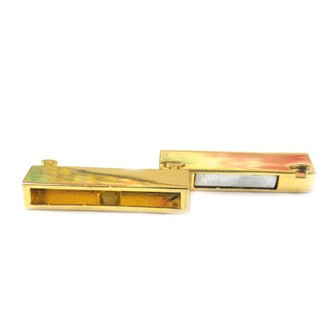 Magnetic Clasp, Gold, 38x18mm - 1 piece