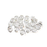 Swarovski Crystal, Bicone, 8mm - Crystal; 20 pcs