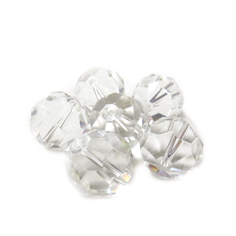 Faceted Crystal Bead, 18mm - 1 piece
